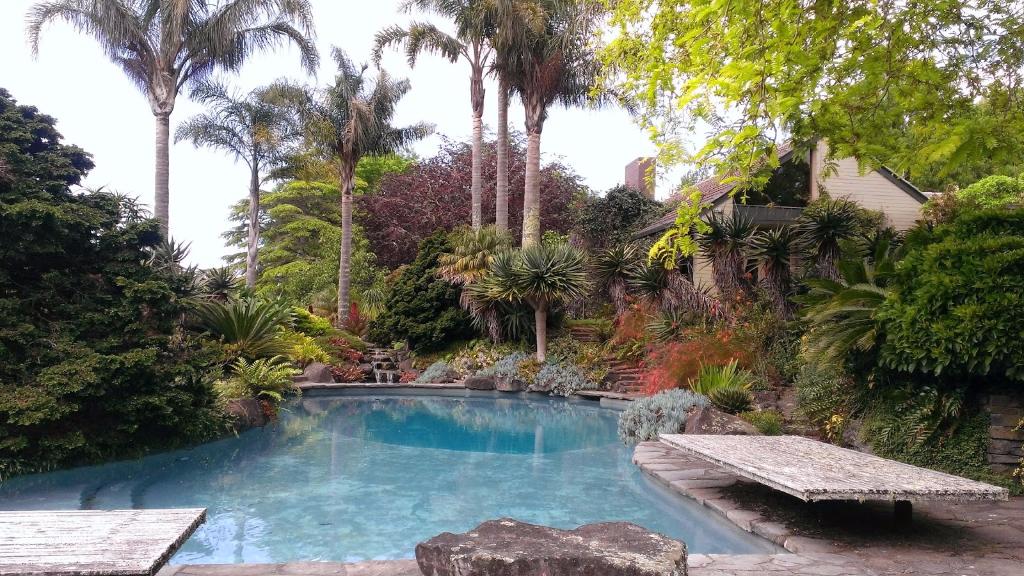 Swimming pool Autumn